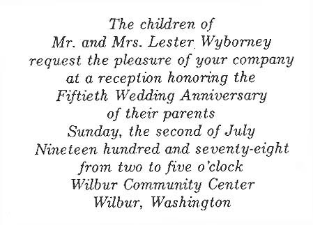 Short speeches 50th wedding anniversary